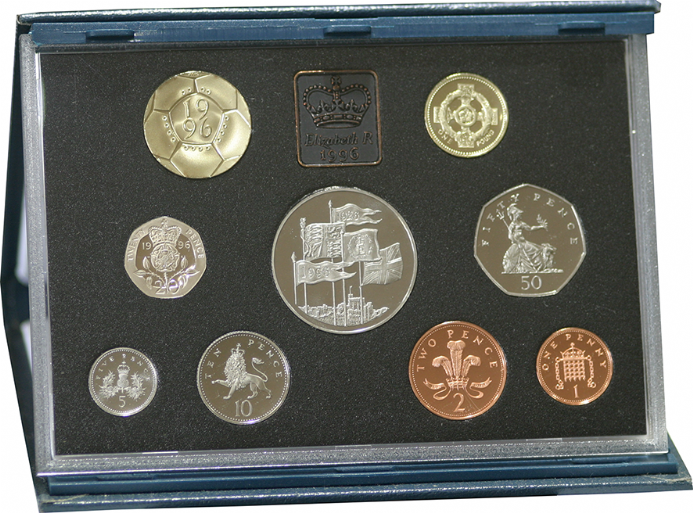 1996 Royal Mint Proof Set